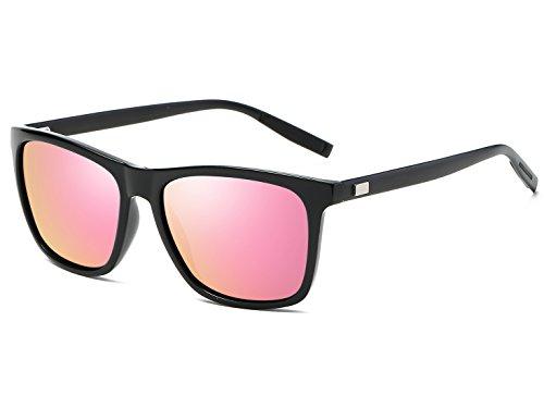 sunglasses brands Bevi Unisex Polarized Sunglasses Square UV400 Sun glasses