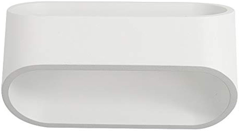 Kreative Nordic LED Wandleuchte Spiegel Scheinwerfer Schlafzimmer Nachttischlampe Leselampe Wand Treppen Gang Flur Dekoration Lampe Persnlichkeit Kunst Schlafzimmer Wandleuchte Wei [Energieklasse A