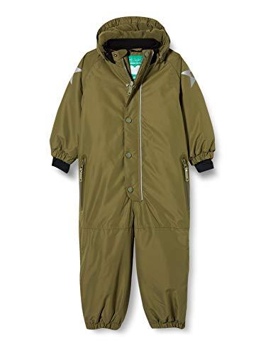 Fred's World by Green Cotton Outerwear Suit Baby Traje de Esquiar, Musgo de ensueño, 80 para Bebés