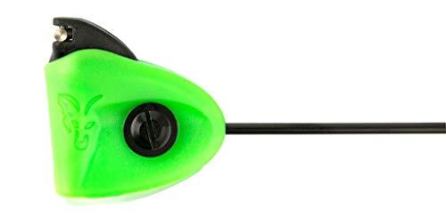 Fox Black Label Mini Swingers - Karpfenbissanzeiger Zum Angeln auf Karpfen, Bissanzeiger Zum Karpfenangeln & Raubfischangeln, Farbe:Green