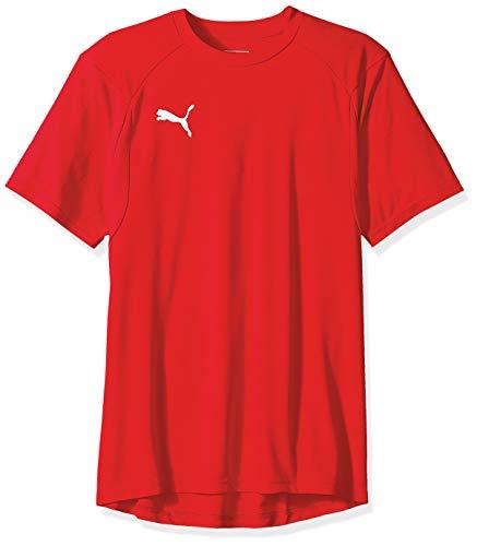 PUMA Men's Liga Training Jersey, red White, M