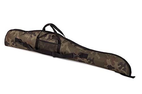 Funda para Armas Rifle caza escopeta táctico espuma 120 cm camuflaje militar [015 1]