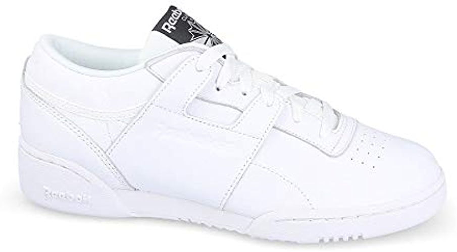 Reebok Workout Lo Clean ID Chaussures de sport, Homme, Blanc (blanc Coal)