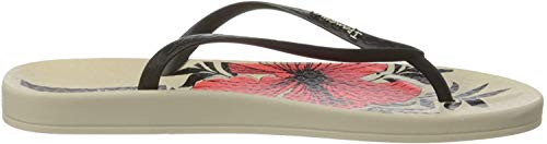Ipanema Anat Temas IX Fem, Chanclas para Mujer, Multicolor (Beige/Black/Orange 9089.0), 43 EU
