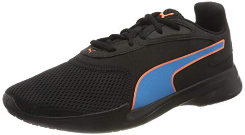 PUMA Jaro, Scarpe da Corsa Uomo, Nero Black/Nrgy Blue/Ultra Orange, 39 EU