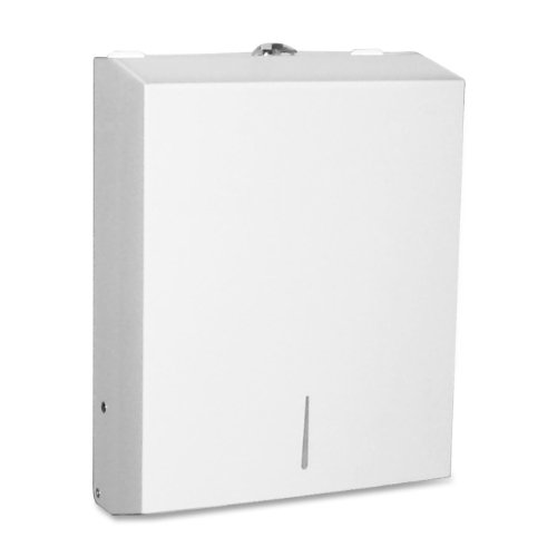 Genuine Joe GJO02197 C-Fold/Multi Towel Cabinets, Stainless Steel