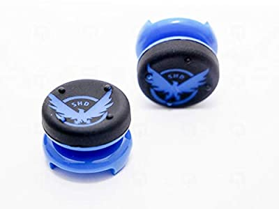 2 x Division Thumb Grips Sticks SHD Analog Extender Controller Thumbstick for PS4 Dualshock 4 Mod