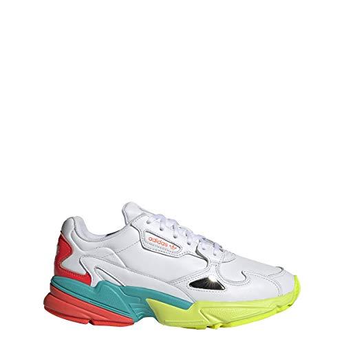 adidas Mujer Falcon W Zapatillas Blanco, 38