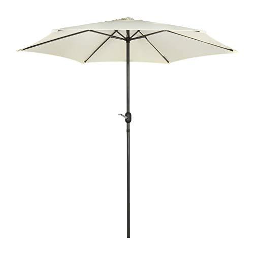 Aktive Garden 53987 - Parasol Hexagonal Diámetro 270 cm, M