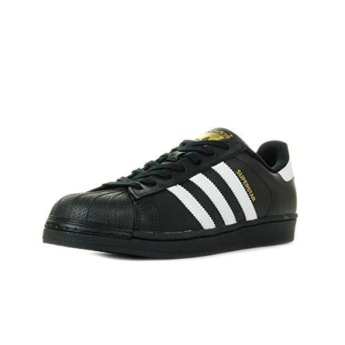 adidas Originals Superstar, Zapatillas Unisex Adulto, Negro (Core Black/ftwr White/Core Black), 37 1/3 EU