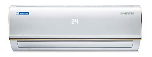 Blue Star 1 Ton 3 Star Inverter Split AC (IC312RBTU, White)