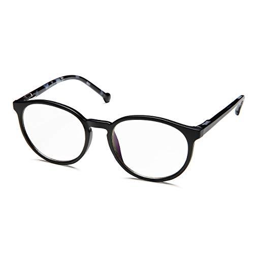 PROSPEK - KIDS COMPUTER BRILLEN: Anti Blaulicht Brillen für Kinder ab 4 Jahren (Sharp - Schwarz)