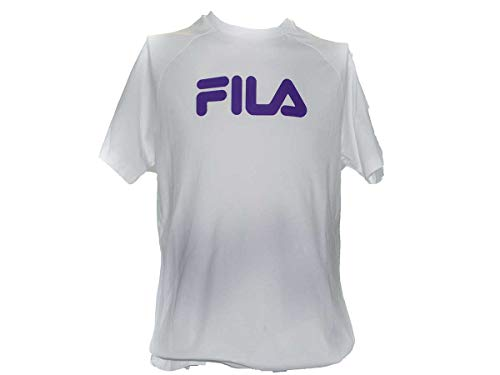 GS1 Germany GmbH T-Shirt Uomo Fila 687108 (Bianco, XS)