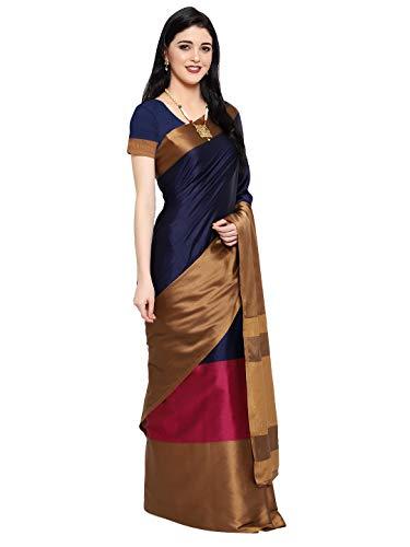 Greciilooks Soft Cotton &Silk Saree For Women Half Saree