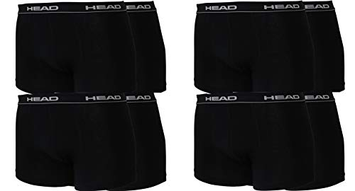 HEAD Men Boxershort 841001001 Basic Boxer 8er Pack, Black, XL