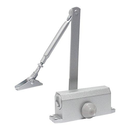 Signstek 60-85kg automatische Hydraulisch Türschließer kommerzielle Grade Door Closer für Brandschutztüren, Silber