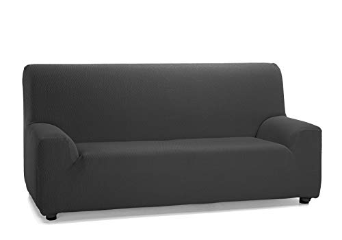 Martina Home Tunez - Copridivano elasticizzato per divano, colore: grigio antracite, 2 posti (120-190 cm)