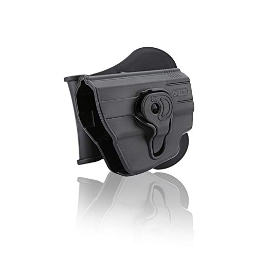 Cytac Holster for Ruger Lc9 with Laser Cytac in Black