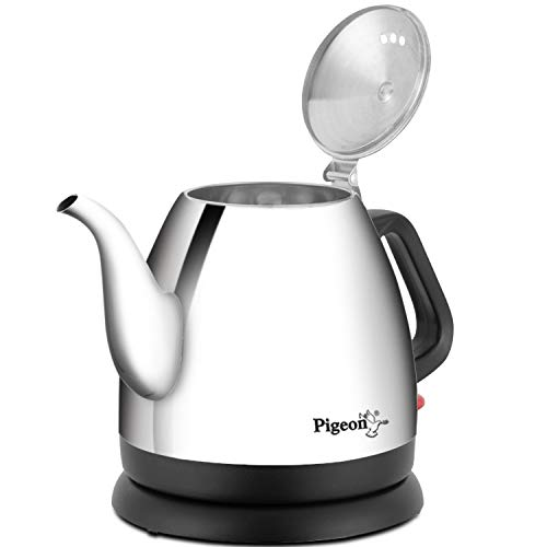 Pigeon by Stovekraft Swell Electric Kettle with Stainless Steel Body, 0.7 Litre Boiler for Water, Instant Noodles, Soup etc