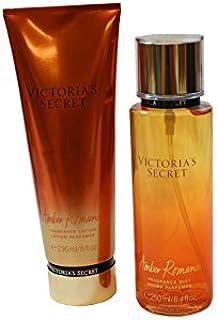 Victoria Secret Amber Romance Lotion and Mist Set
