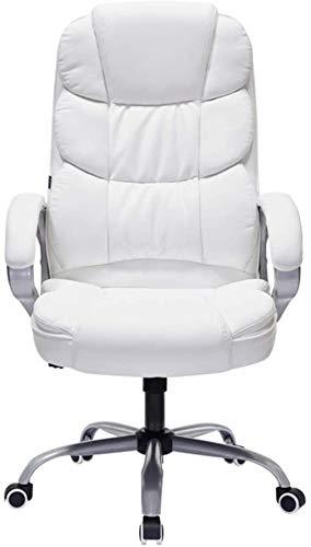 WANGXIAOYUE Bester Bürostuhl-Tisch Ergonomischer Swivel-Executive-justierbare Task-Computer-High-Rücken-Stuhl mit Rückenunterstützung Kniestuhl