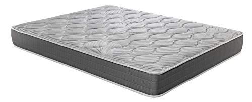 ROYAL SLEEP Colchón viscoelástico Carbono 90x190 firmeza Alta, Gama Alta, Efecto regenerador, Altura 23cm - Colchones Ceramic