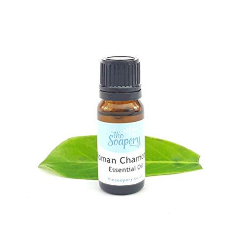 Aceite esencial de manzanilla romana, 10 ml, 100% puro y natural.