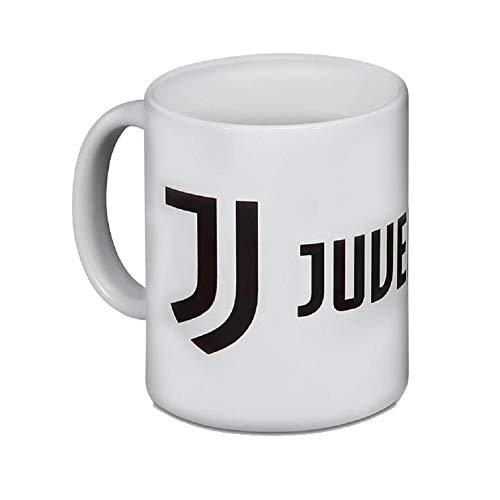 JUVENTUS Turin Logo Tasse (one Size, White)