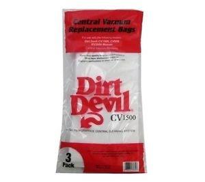 Dirt Devil Central Vacuum Cleaner 3PK Paper Bags # 9597