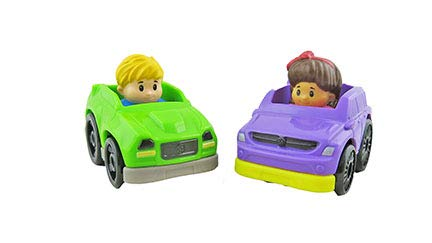 Fisher-Price Little People Take Turns Skyway FHG51 - Replacement Wheelies