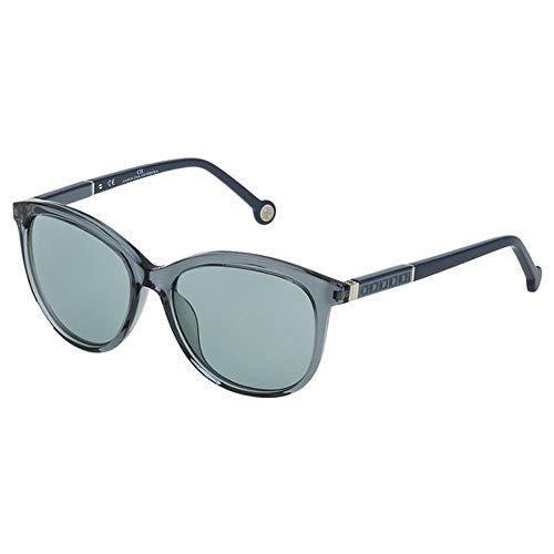 Carolina Herrera SHE7039ABG Gafas de sol, Azul, 55 para Mujer