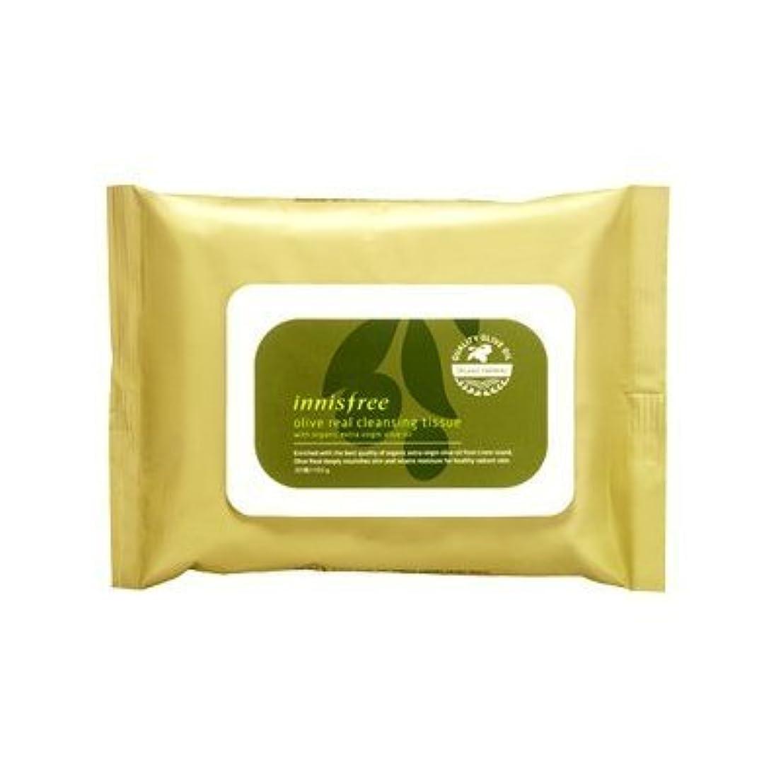 中級日の出侵略Innisfree Olive Real Cleansing Tissue (30 sheets)