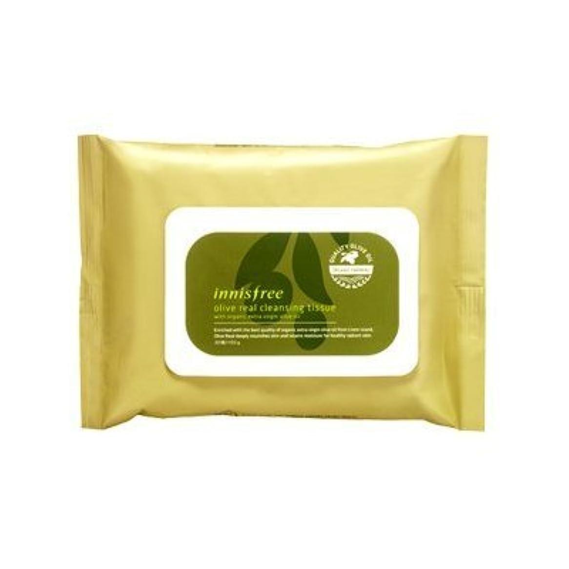 日常的に呼び起こすしがみつくInnisfree Olive Real Cleansing Tissue (30 sheets)
