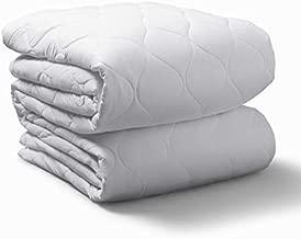 Sunbeam Heated Mattress Pad | Water-Resistant, 20 Heat Settings , White, King - MSU6SKS-T000-11A00