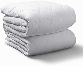 Sunbeam Heated Mattress Pad   Water-Resistant, 20 Heat Settings , White , Queen - MSU6SQS-T000-11A00