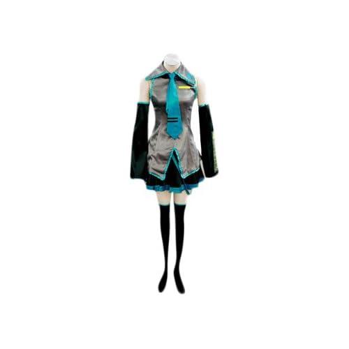 VOCALOID,Hatsune Miku Cosplay Traje, tamaño S (altura 154-157 cm ...