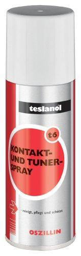 Teslanol 26025 Kontakt- und Konservierungsspray zur präzisen Reinigung und Pflege von Kontakten - 200 ml