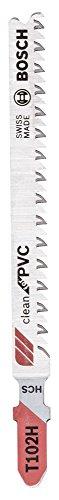 Bosch Professional 2608667445 Stichsägeblätter T 102 H 3 Stück