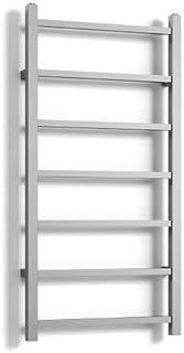 ECD Germany Radiador toallero de baño DHK Thorr - 500 x 1100 mm - Cromado - Radiador calentador y secador de toallas - Radiador de pared - Radiador calefactor de baño - Diseño moderno - No eléctrico