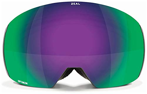 Zeal Portal XL Rls - Maschera da Sci, Unisex, Greybird ~ Jade Mirror, Taglia Unica