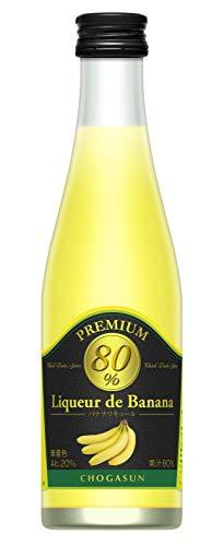 無着色・天然バナナ果汁80% チョーガ リキュール デ バナナ [ 300ml ]