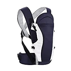 R for Rabbit Chubby Cheeks (New) - The Cozy Baby Carrier for 6-24 Months Baby (Midnight Black),R for Rabbit