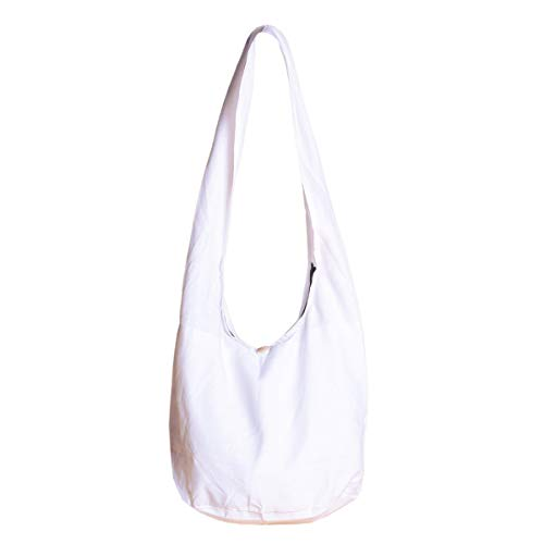 PANASIAM Shoulderbag, HEMP, white in L