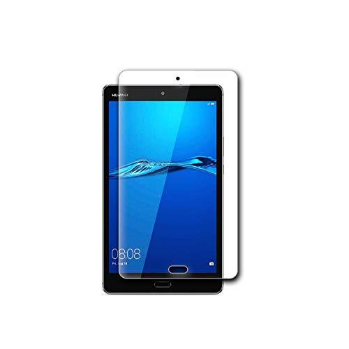 [LFOTPP] Huawei M3 8.0 Lite/MediaPad M3 lite s 強化ガラス 液晶保護フィルム 日本製素材旭硝子 硬度9H 高鮮明 高感度タッチ 指紋防止 気泡防止 (9H 0.26mm 2.5D)