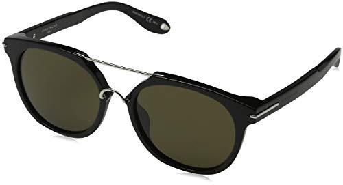 Givenchy GV 7034/S EC 807 Occhiali da Sole, Nero (Black/Brown), 54 Uomo