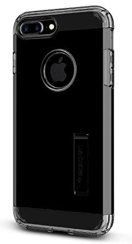 Spigen Coque iPhone 7 Plus, [Tough Armor] Heavy Duty [Noir de Jais] Extreme Protection/Rugged But Slim Dual Layer Protective Housse Etui Coque pour iPhone 7 Plus - (043CS20852)