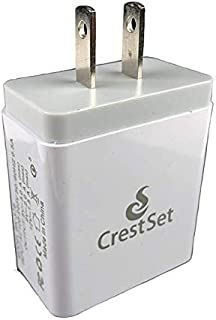 CrestSet Multi-Port USB Wall Charger – with 4 Ports for...