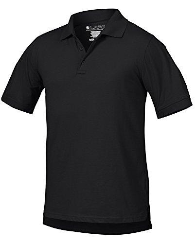 La Policía Gear operador táctica camisa de Polo - negro -