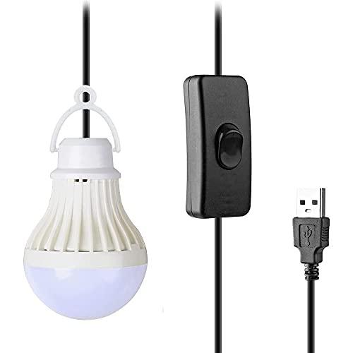 YiYunTE USB LED Campinglampe Portable USB Outdoor Mini Zeltlampe Glühbirne Tragbare Campinglaterne USB Zelt Licht Beleuchtung Hängelampe für Wandern Reisen Angeln Abenteuer