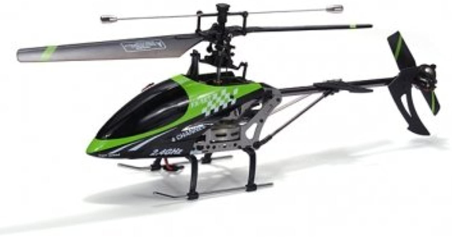 FX078 4CH 2.4G Single Blade RC Helicopter Mode 2